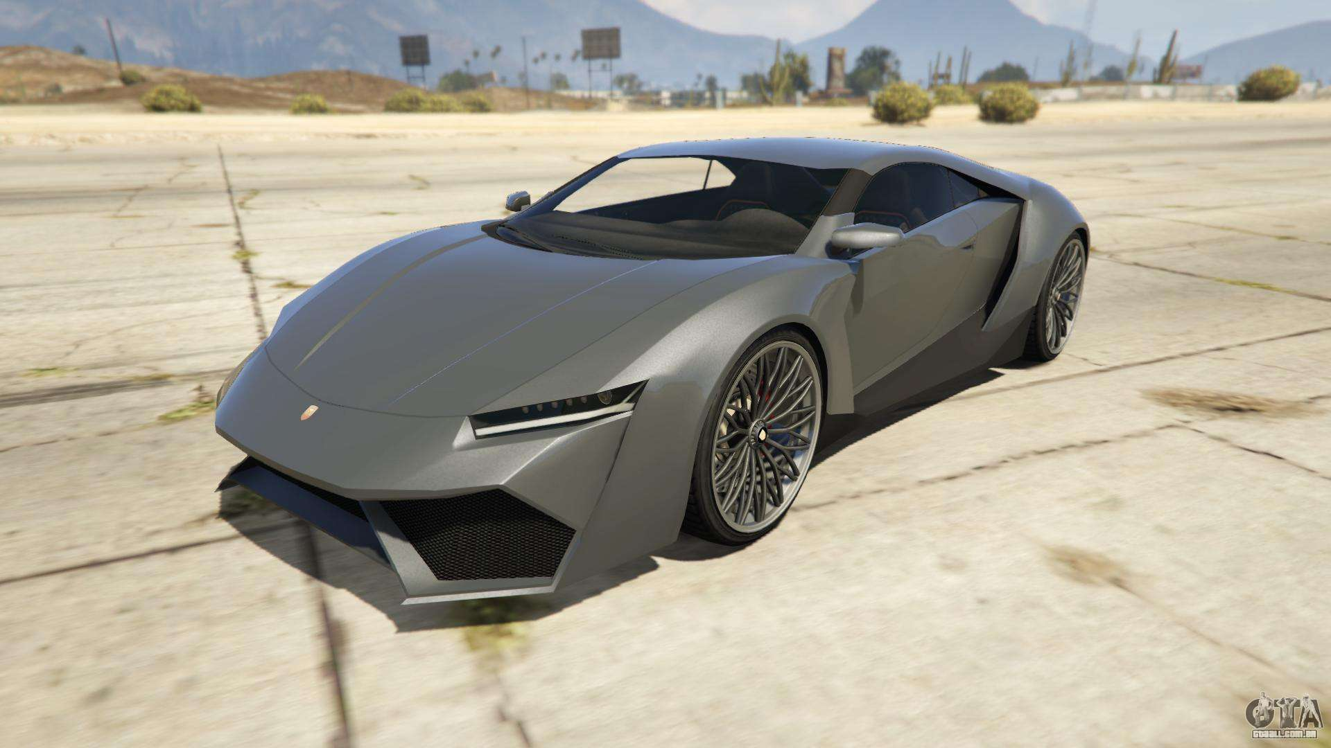 Pegassi Reaper do GTA 5 - vista frontal