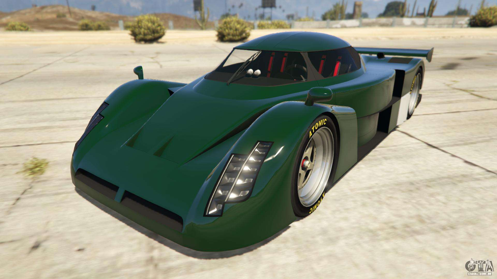 Annis RE-7B do GTA Online - vista frontal