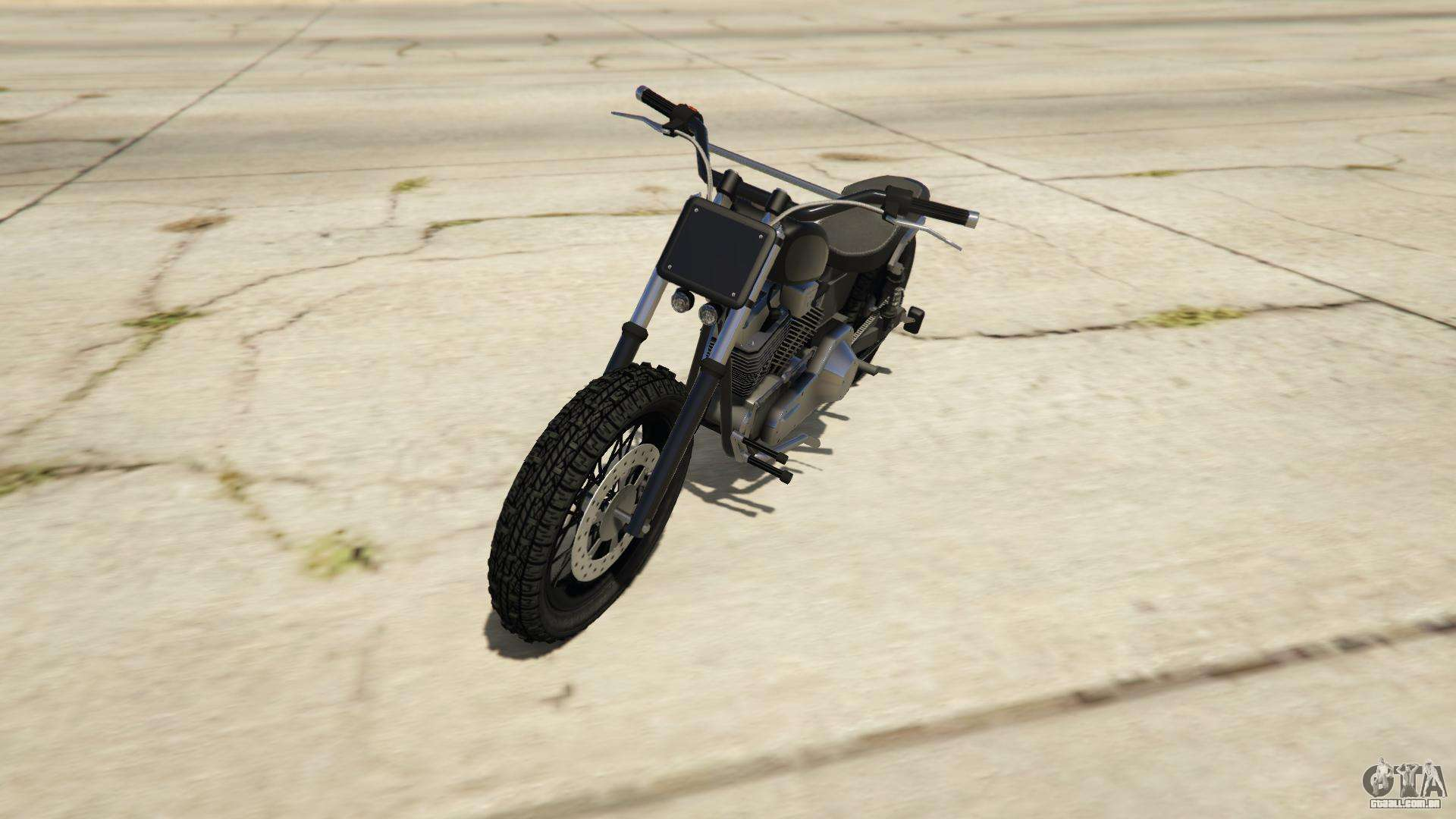 Western Motorcycle Company Cliffhanger do GTA Online - vista frontal