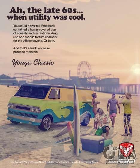Veículo novo Bravado Youga Classic GTA Online
