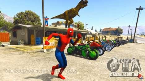 Spider-Man em GTA 5