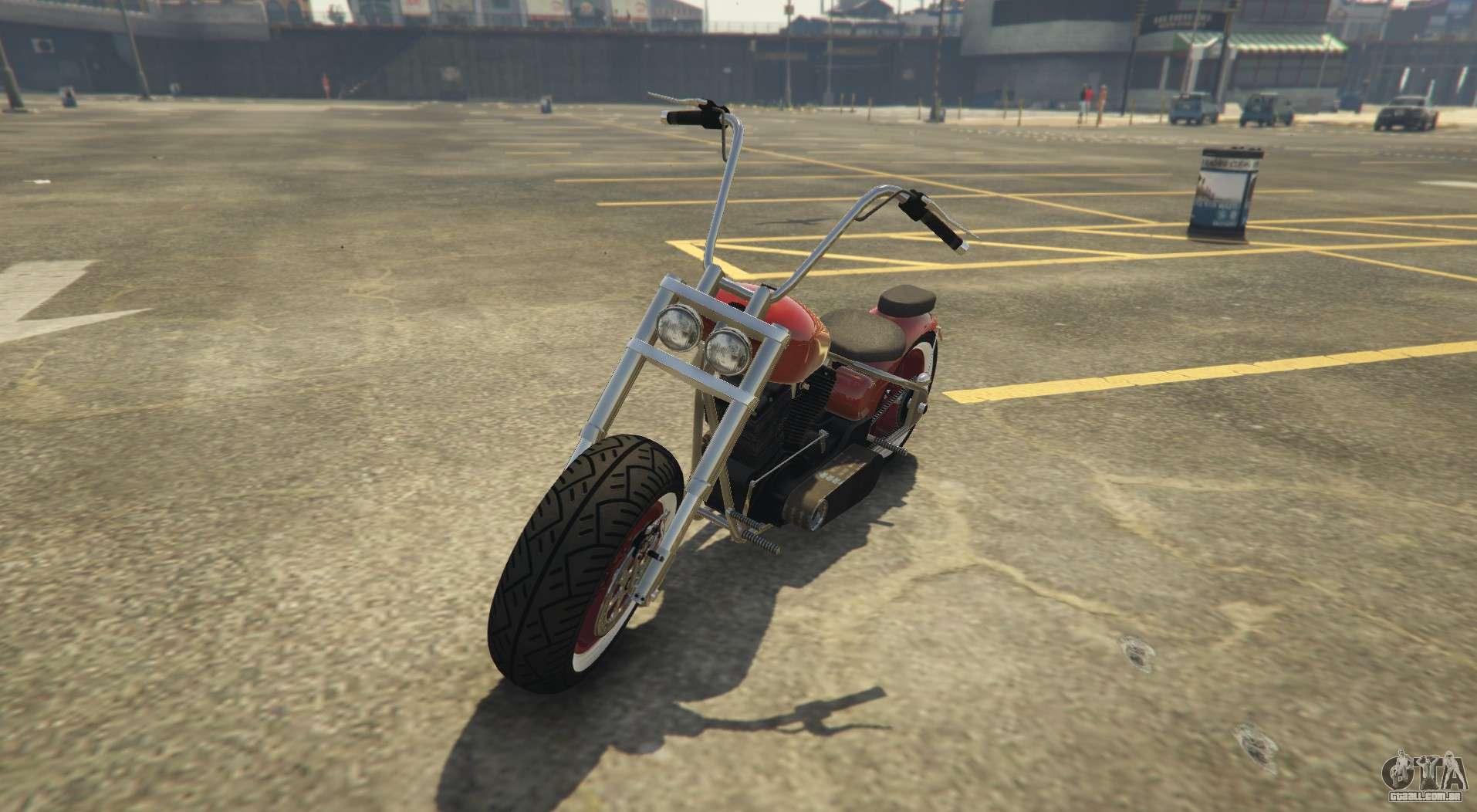 Novo chopper em GTA Online Western Motorcycle Company Zombie Chopper