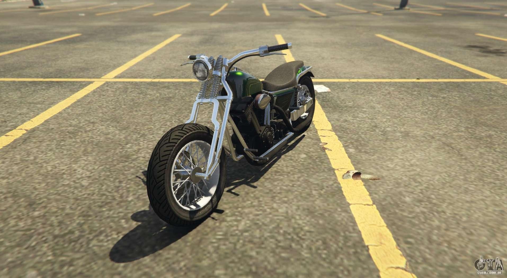 Outro clássico chopper Western Wolfsbane em GTA Online