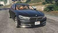 BMW 750 LI para GTA 5