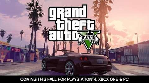 O anúncio de GTA V para PC, PS4 e XboxOne