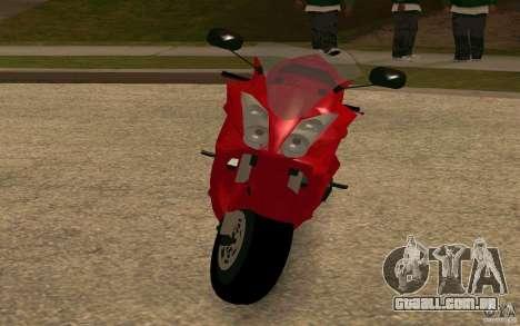 Honda VTR 2003 para GTA San Andreas esquerda vista