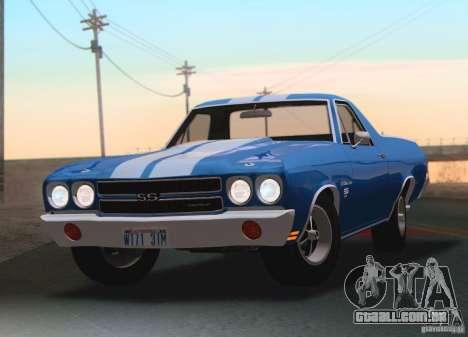 Chevrolet EL Camino SS 70 para GTA San Andreas