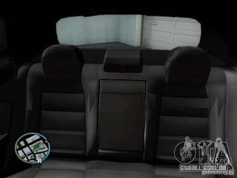 Volkswagen Golf V R32 Black edition para GTA San Andreas vista superior