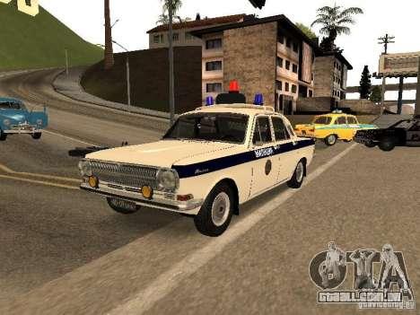 GÁS 24 milícia para GTA San Andreas