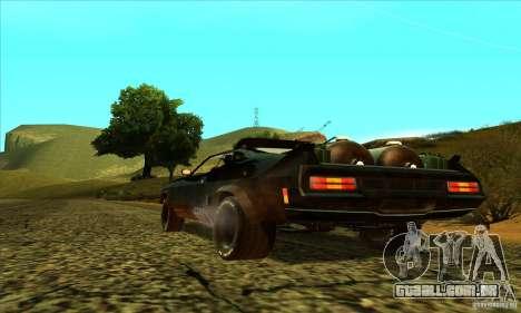 Ford Falcon 351 GT (XB) para GTA San Andreas traseira esquerda vista