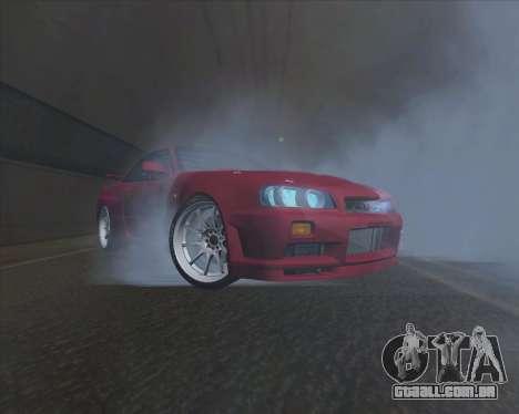 Nissan Skyline BNR34 GT-R para GTA San Andreas