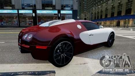 Bugatti Veyron 16.4 v1.0 wheel 1 para GTA 4 esquerda vista