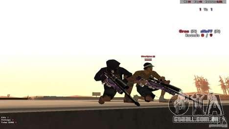 New Chrome Guns v1.0 para GTA San Andreas quinto tela