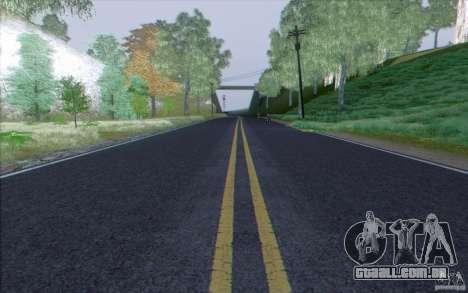 Estrada de HD v 3.0 para GTA San Andreas terceira tela