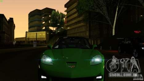 Direct R V1.1 para GTA San Andreas sexta tela