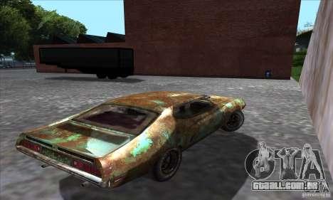 Ford Torino Cobra 429 SCJ para GTA San Andreas esquerda vista