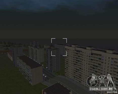 Nižegorodsk 0.5 BETA para GTA San Andreas por diante tela