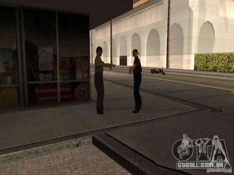 Posto ocupado em Los Santos para GTA San Andreas quinto tela