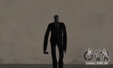 Slender Man para GTA San Andreas
