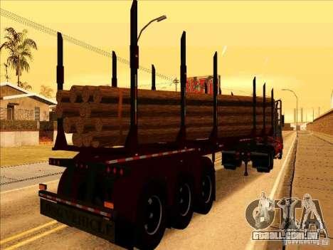 Reboque, Western Star 4900 para GTA San Andreas