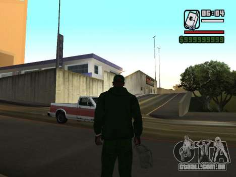 formato 12/24 horas para GTA San Andreas quinto tela
