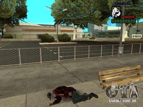 Pele o casaco de mendigo para GTA San Andreas