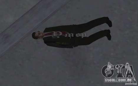 Animando o corpo de GTA IV para GTA San Andreas