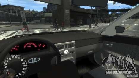 Pitbull VAZ-2172 para GTA 4 vista de volta
