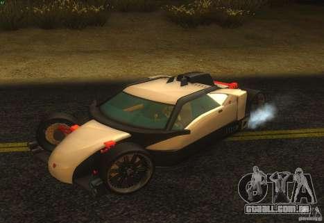 Guarda para vista lateral GTA San Andreas
