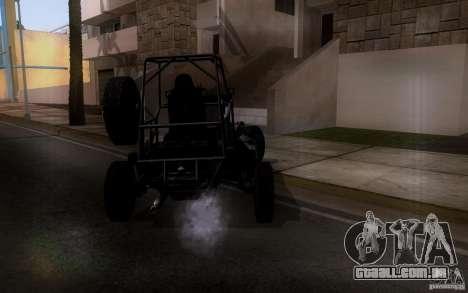 Desert Patrol Vehicle para GTA San Andreas vista direita