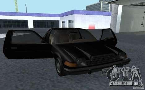 AMC Pacer para GTA San Andreas vista direita