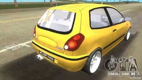 Fiat Bravo para GTA Vice City deixou vista