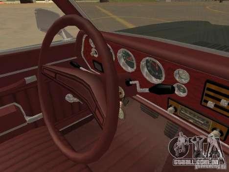 1970 Chevrolet Monte Carlo para GTA San Andreas vista superior