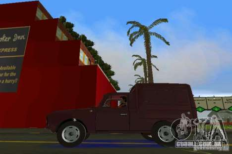 IZH 2715 para GTA Vice City vista direita