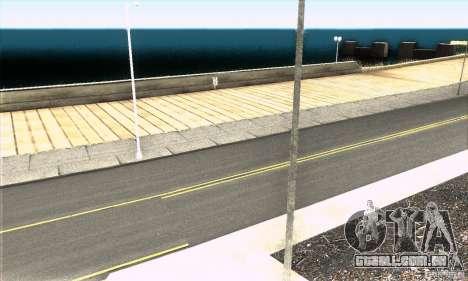Real HQ Roads para GTA San Andreas quinto tela