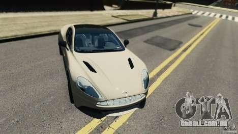 Aston Martin Vanquish 2013 para GTA 4 esquerda vista