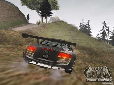 Audi R8 LMS v3.0 para GTA San Andreas vista direita