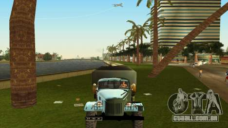 ZIL-157 para GTA Vice City vista interior