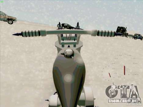 Harley para GTA San Andreas vista direita