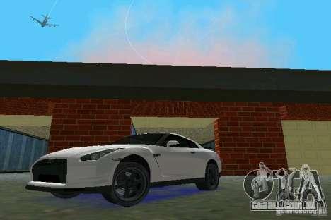 Nissan GT-R Spec V 2010 v1.0 para GTA Vice City deixou vista