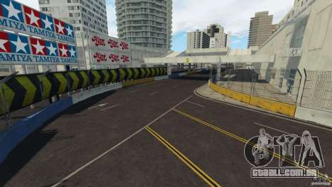 Long Beach Circuit [Beta] para GTA 4 nono tela