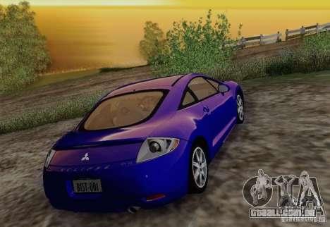 Mitsubishi Eclipse GT V6 para vista lateral GTA San Andreas