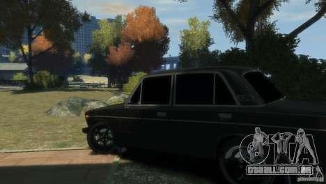 VAZ 2106 para GTA 4 vista de volta