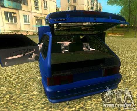 VAZ 2113 LT para GTA San Andreas traseira esquerda vista