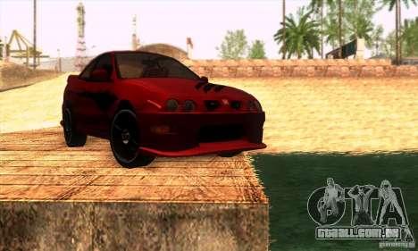 Honda Integra Tunable para o motor de GTA San Andreas