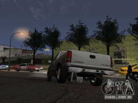 Chevorlet Silverado 2000 para GTA San Andreas vista superior