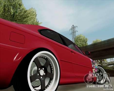 BMW E46 para GTA San Andreas vista traseira