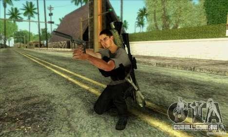 Jack Rourke para GTA San Andreas por diante tela