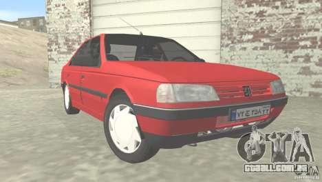 Peugeot RD 1600i para GTA San Andreas