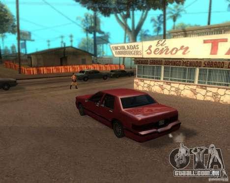 ENBSeries para médio- e de alta potência PC para GTA San Andreas segunda tela